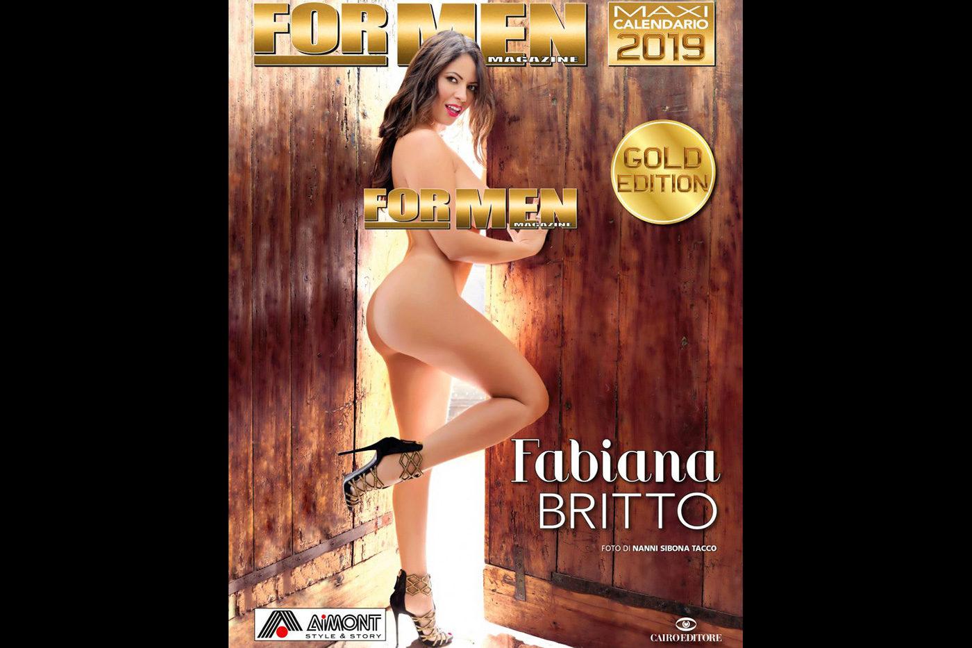 For Men Calendario.Calendario For Men Gold Edition 2019 Fabiana Britto Backstage